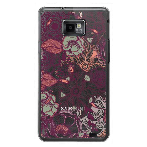 Samsung Galaxy S2 Cases - Vintage Floral