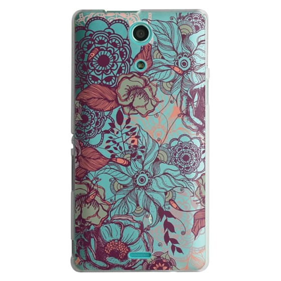 Sony Zr Cases - Vintage Floral