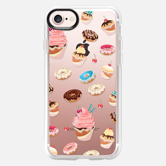 Donuts and Cupcakes with Cherries on Top - Classic Grip Case