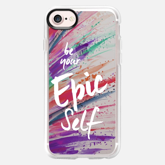 be your Epic Self on Paint Splatter - Classic Grip Case