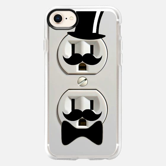 Top Hat and Mustache Plugs Fathers Day - Snap Case