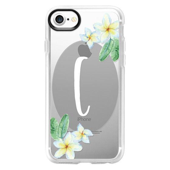iPhone 6s Cases - Lei Plumeria Initial C