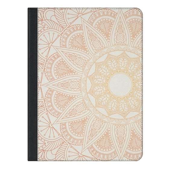iPad Air 2 Covers - Ochre Mandala Lace Ipad