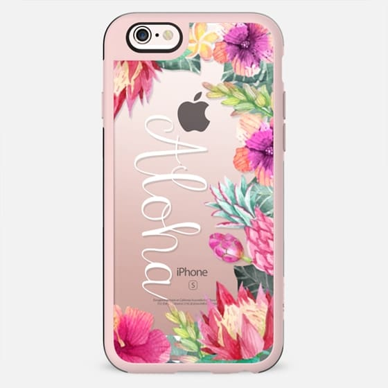 Aloha Hibiscus Border Android - New Standard Case
