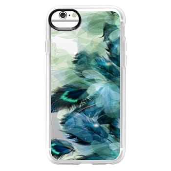 Grip iPhone 6 Case - Peacock Dream