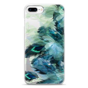 Snap iPhone 7 Plus Case - Peacock Dream