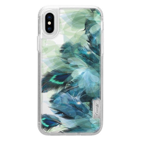 iPhone X Cases - Peacock Dream