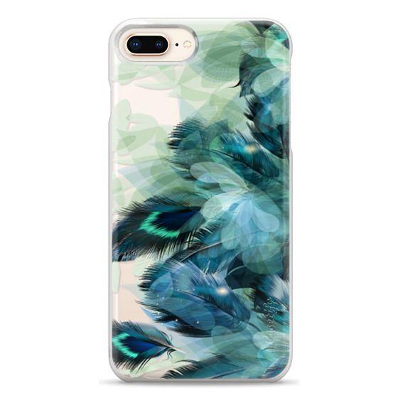iPhone 8 Plus Cases - Peacock Dream