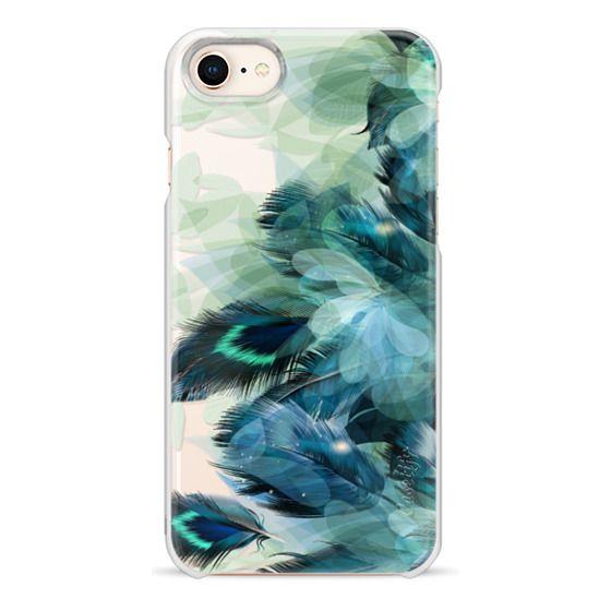 iPhone 8 Cases - Peacock Dream