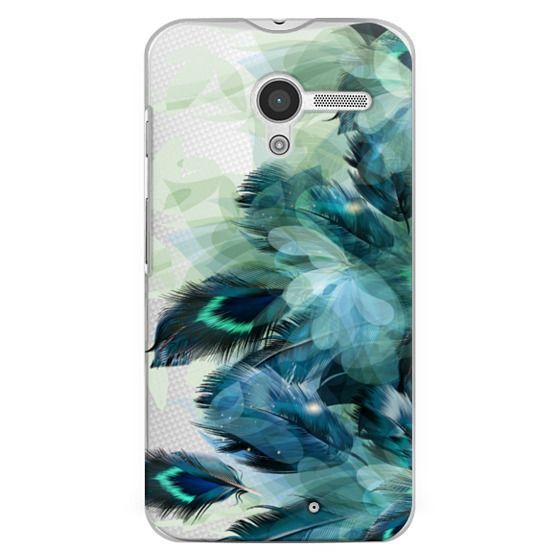 Moto X Cases - Peacock Dream
