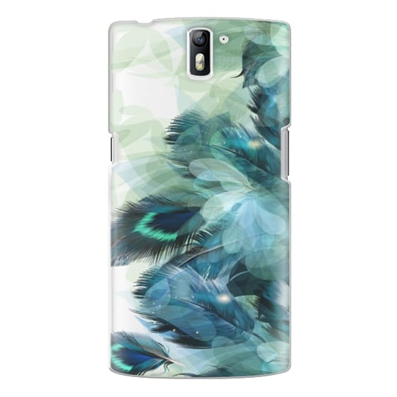 One Plus One Cases - Peacock Dream