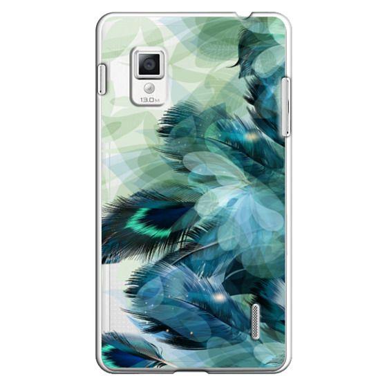 Optimus G Cases - Peacock Dream