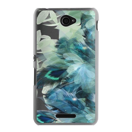Sony E4 Cases - Peacock Dream