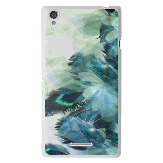 Sony T3 Cases - Peacock Dream