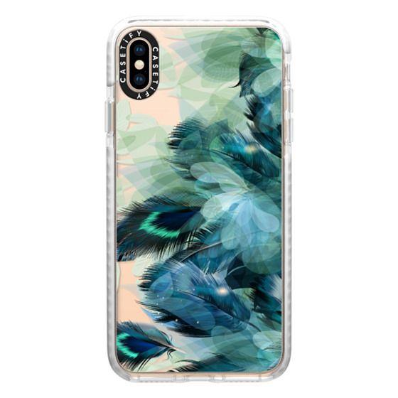 iPhone XS Max Cases - Peacock Dream