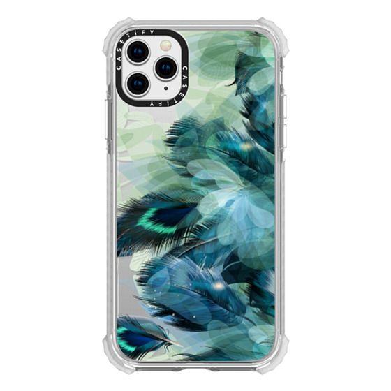 iPhone 11 Pro Max Cases - Peacock Dream