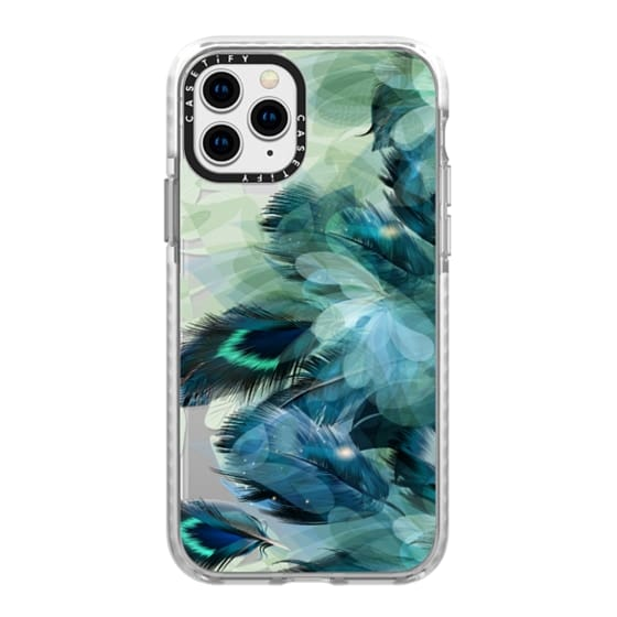 iPhone 11 Pro Cases - Peacock Dream