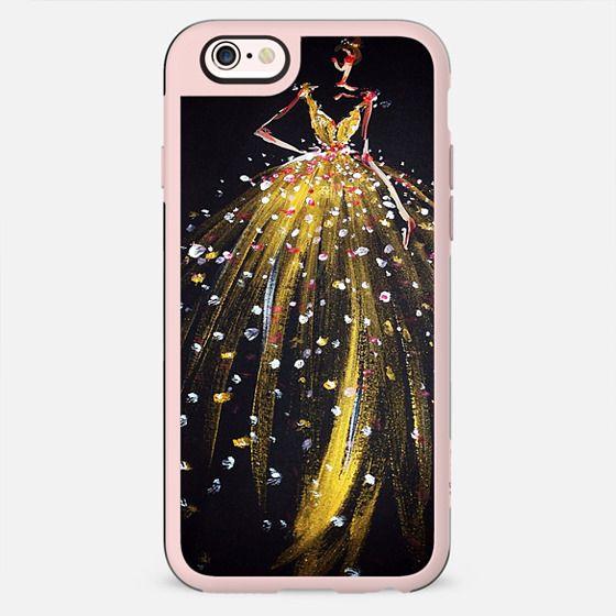 gold dress - New Standard Case