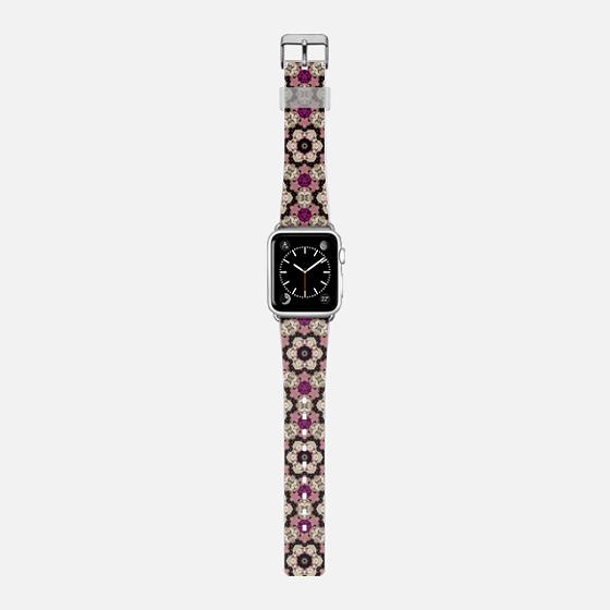 jewel - Saffiano Leather Watch Band