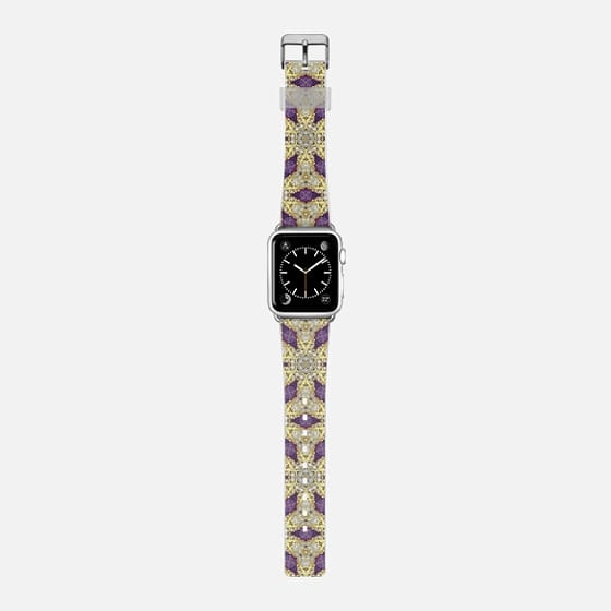 vintage jewel - Saffiano Leather Watch Band