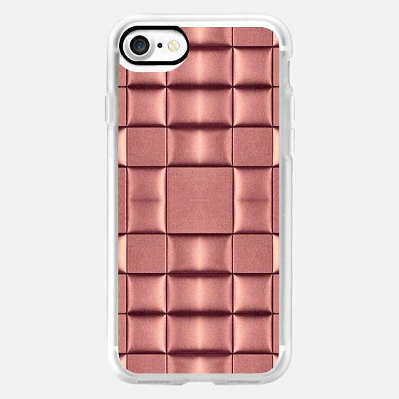 metallic pink -