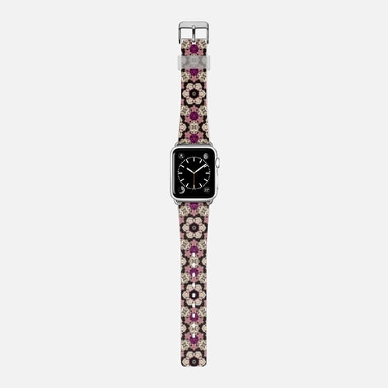 jewel - Saffiano Leather Watch Band