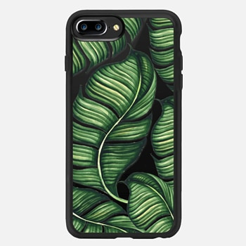 iPhone 7 Plus Case Banana leaves