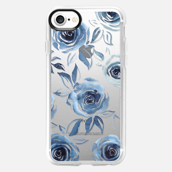 Blue roses - Classic Grip Case