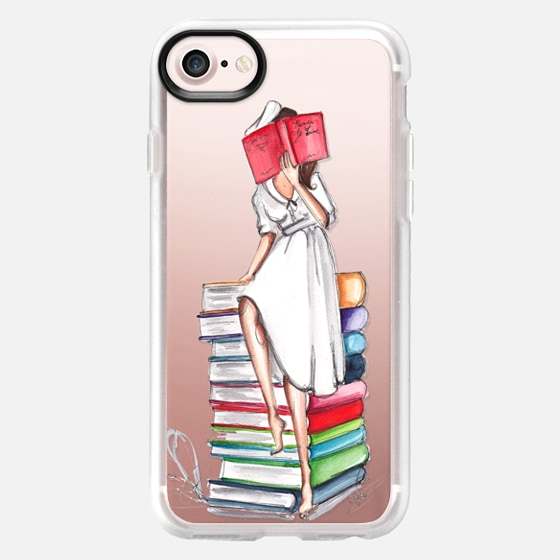 Reading on Books - Classic Grip Case