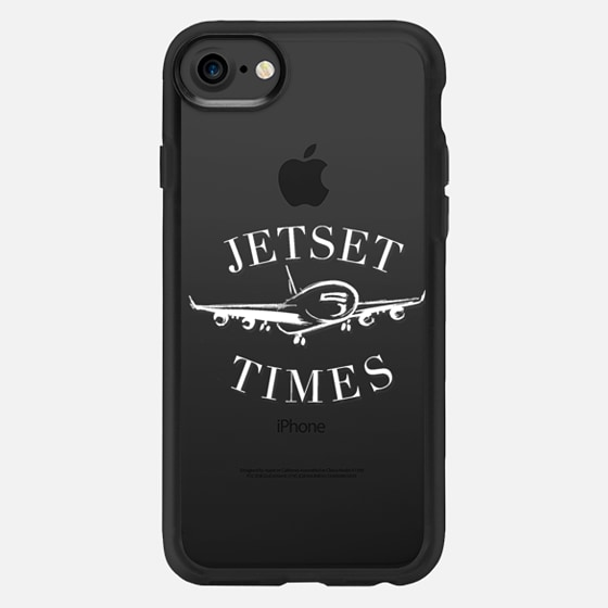 Jetset Times - white - Classic Grip Case