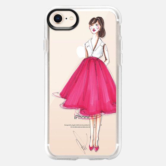 Cherry Pink skirt - Fashion girl - Snap Case