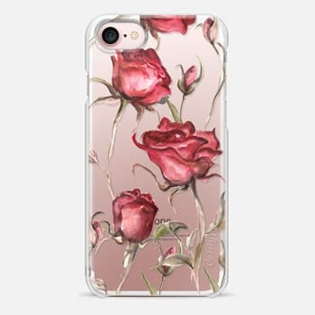 iPhone 7 Case Mauve roses