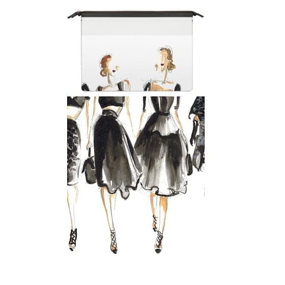 MacBook Air Retina 13 Sleeves - Girls in Black