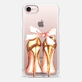 iPhone 7 Case Golden heels