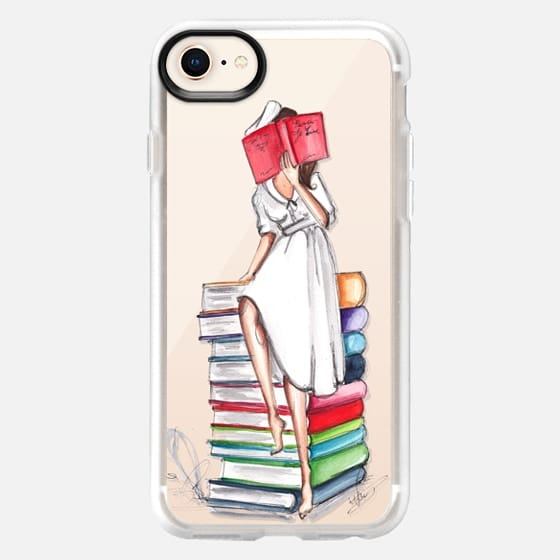 Reading on Books - Snap Case