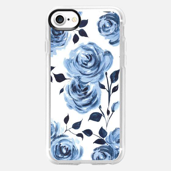 Porcelain Roses - white - Classic Grip Case