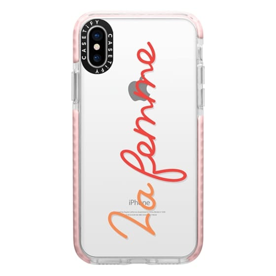 iPhone X Cases - La femme