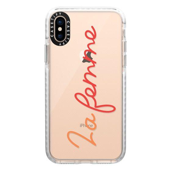 iPhone XS Cases - La femme