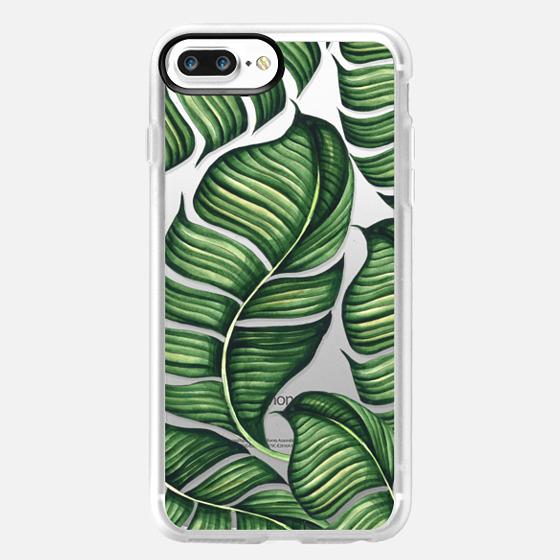 iPhone 7 Plus Case - Banana leaves