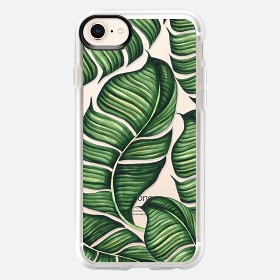 iPhone 8 Case - Banana leaves