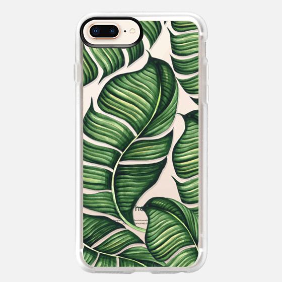 iPhone 8 Plus Case - Banana leaves