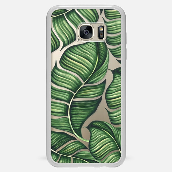 Galaxy S7 Edge Case - Banana leaves