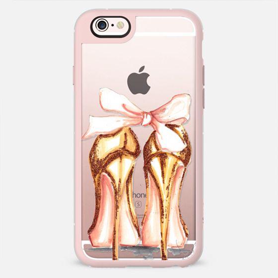 Golden heels -