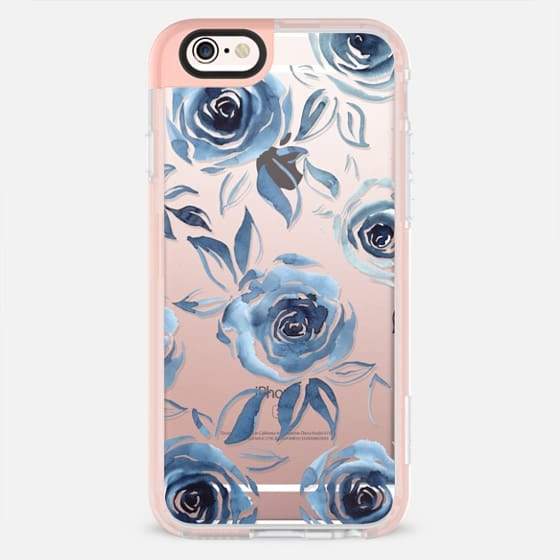 Blue roses -