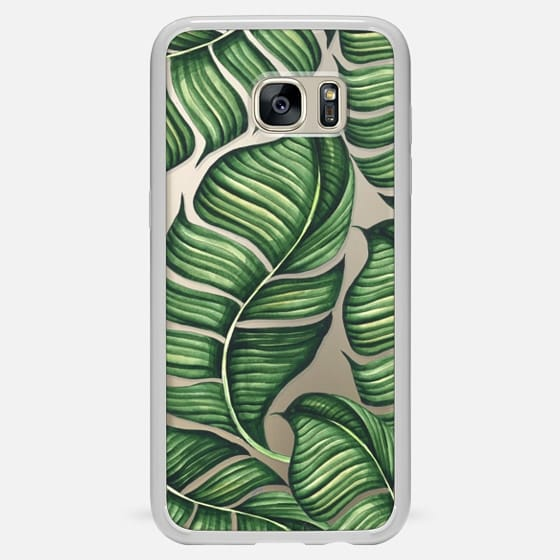 Galaxy S7 Edge Case - Banana leaves