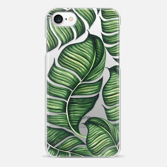 iPhone 7 Case - Banana leaves