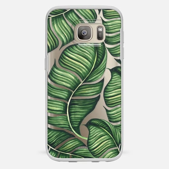 Galaxy S7 Case - Banana leaves