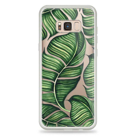 Galaxy S8 Plus Case - Banana leaves