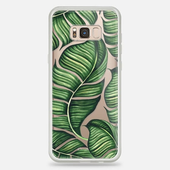 Galaxy S8 Plus Case - Banana leaves