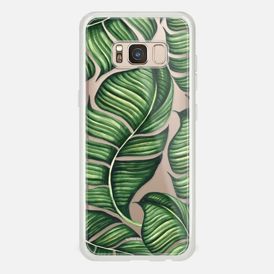 Galaxy S8 Case - Banana leaves